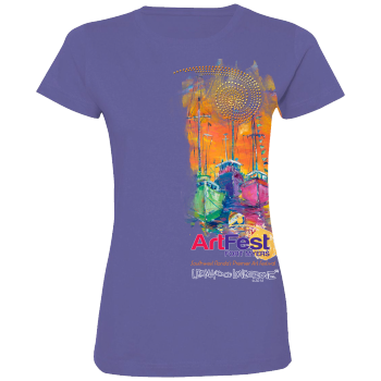 Art Fest 2016Ladies bling T Hi Res Image