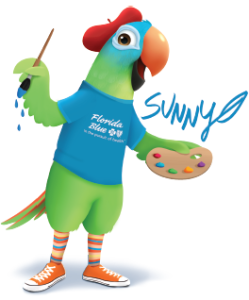 Meet Sunny at ArtFest Fort Myers!