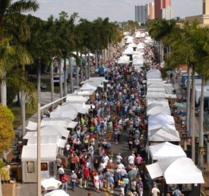 ArtFest Fort Myers Crowd