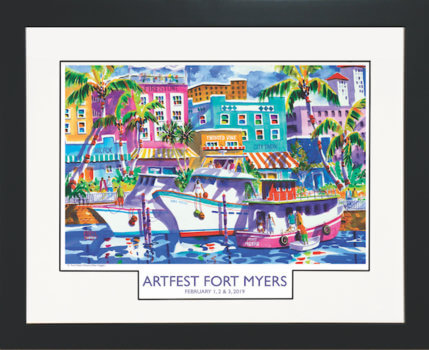 ArtFest Fort Myers 2019_BLACK Frame