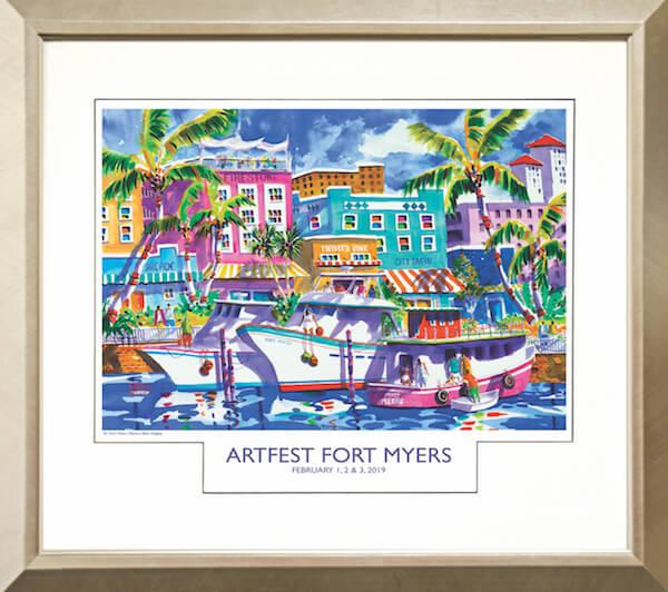 ArtFest Fort Myers 2019_SILVER Frame