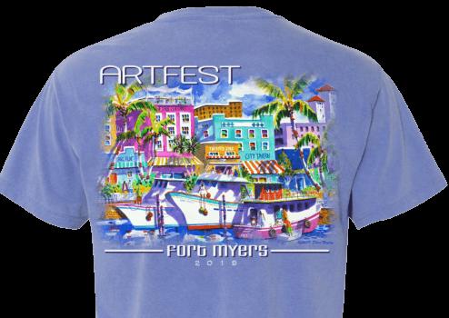 ArtFest Fort Myers 2019_Unisex T