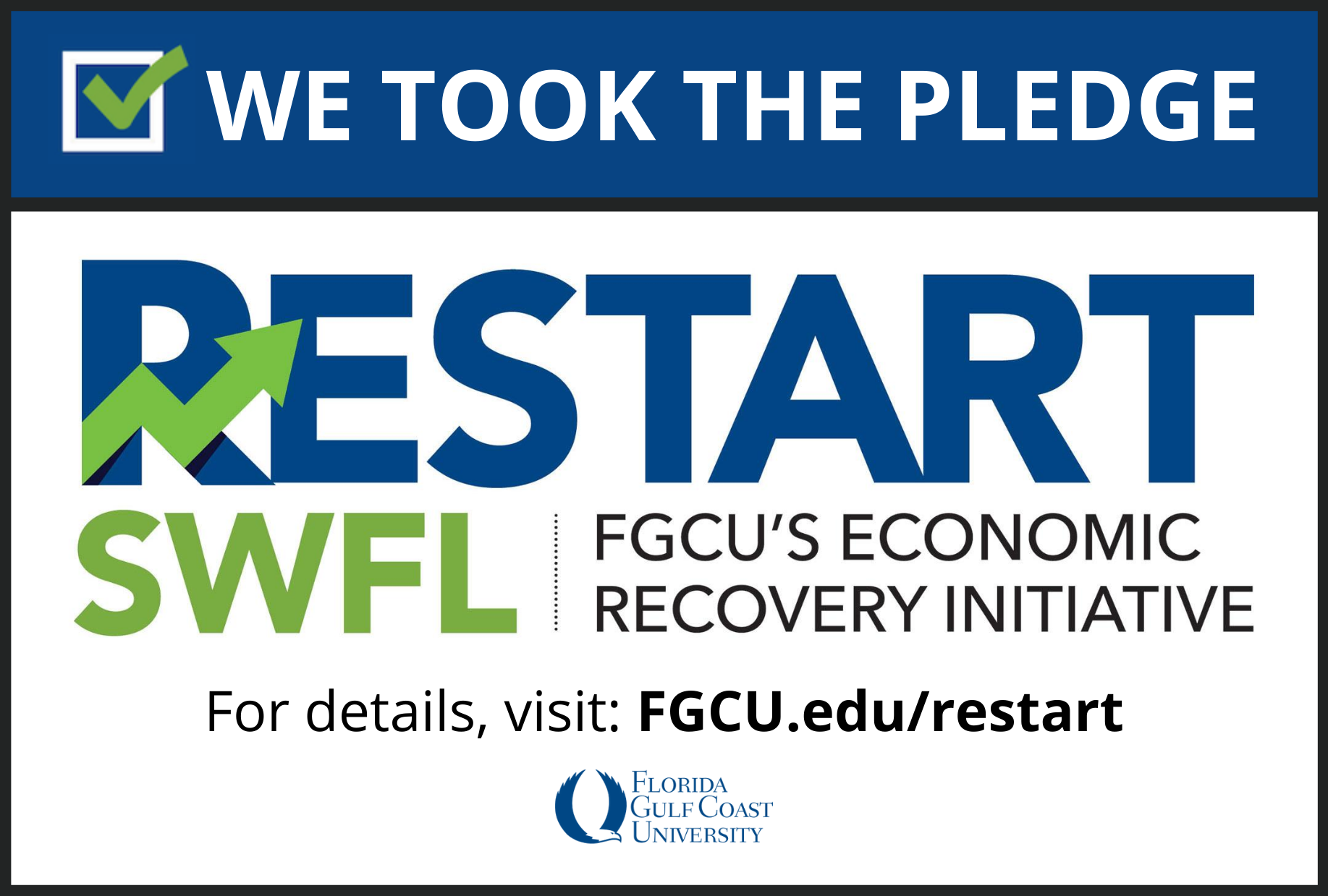 We took the pledge: Restart SWFL