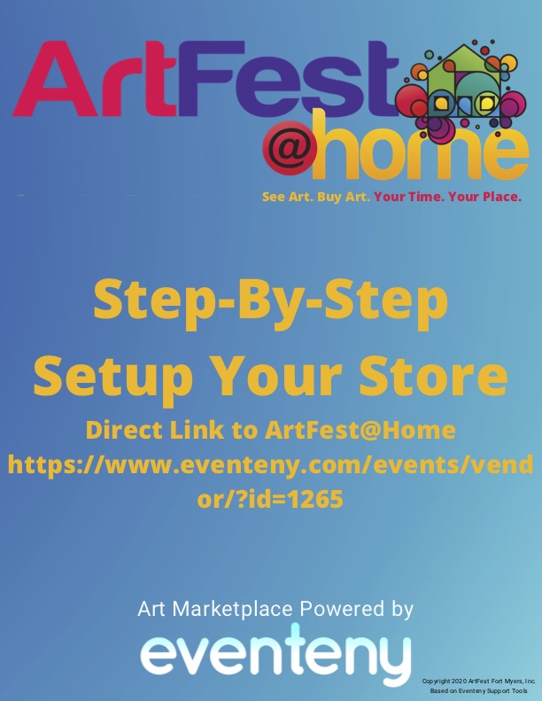 Step-by-Step Store on ArtFest@Home