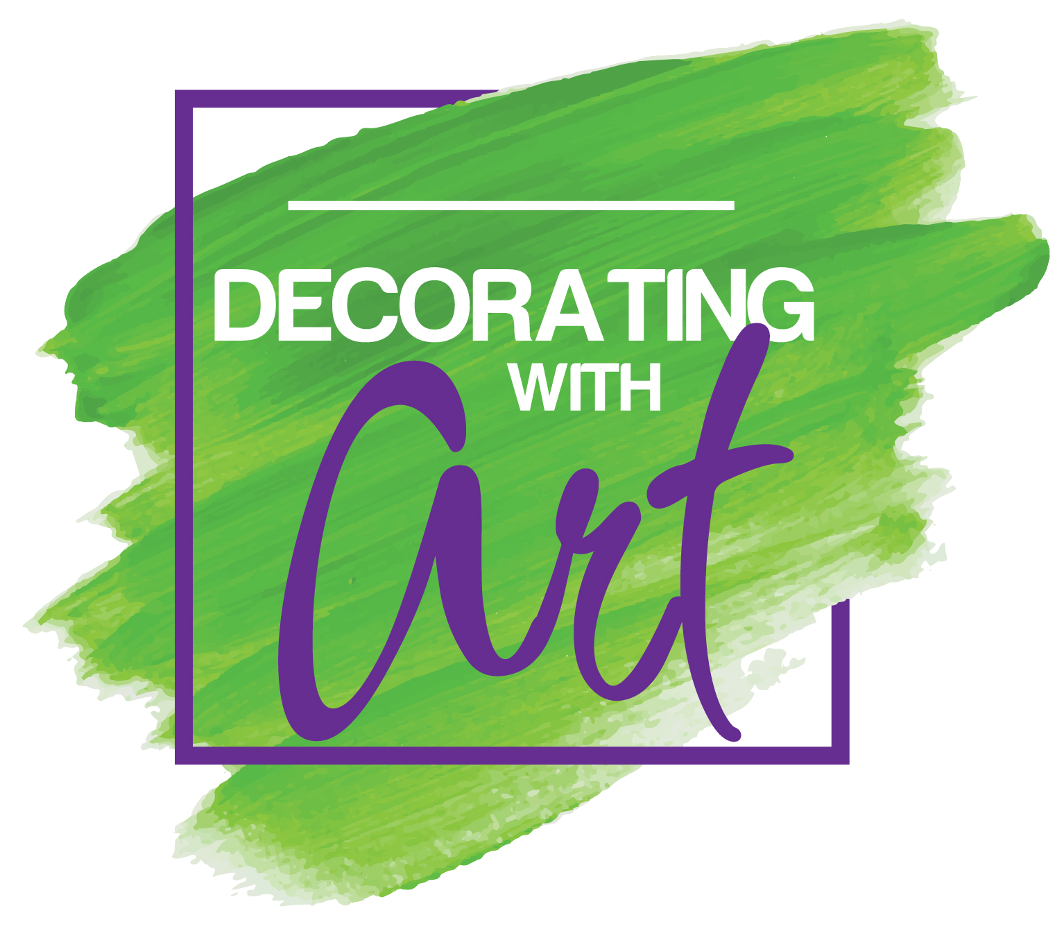 Decorating with art logo